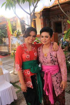 Traditional kebaya, Bali, Indonesia