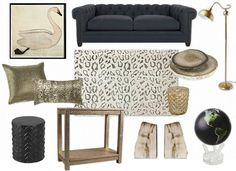 Maybe for our front room? All Design, House Design, Design Boards, Color Schemes, Ottoman, Chair, Table, Room, Mood Boards