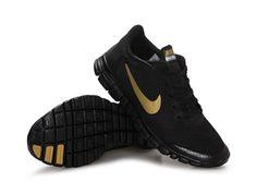Aquista Un Paio del Nike Free 3.0 Scarpe Da Corsa Per Gli Uomini Nero Oro Online