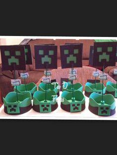 centros de mesa minecraft