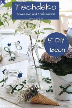 Dory, Communion, Glass Vase, Table Decorations, Birthday, Party, Birthdays, Dirt Bike Birthday, Community