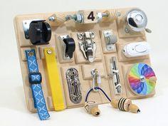 Montessori educational toy Preschool board Kids learning toy