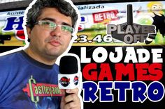 LOJA DE GAMES RETRO - PLAYER OFF -  NERD RETRÔ