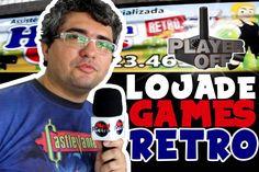 LOJA DE GAMES RETRO - PLAYER OFF -  NERD RETRÔ