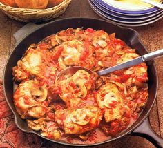 Chicken Cacciatore Recipe - My Kitchen Magazine