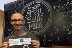 A Grand Avenue bookseller is creating an online directory of small businesses in St. Paul, and he's asking his customers for help. http://www.twincities.com/business/ci_27165385/st-paul-bookseller-looks-create-citywide-small-business