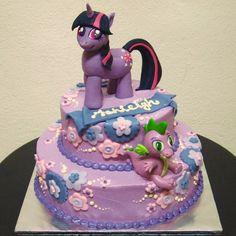 Twilight Sparkle Birthday Cake Cakes Desserts Pinterest