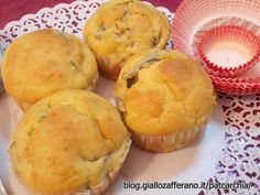 Muffin salati con carciofi
