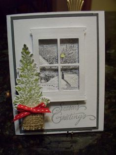 Looking out my window! by Heidio - Cards and Paper Crafts at Splitcoaststampers