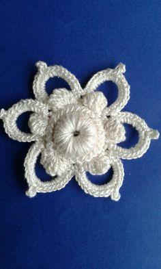 Thread Crochet, Crochet Doilies, Crochet Flowers, Crochet Stitches, Knit Crochet, Crochet Motif Patterns, Square Patterns, Flower Patterns, Russian Crochet