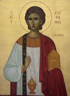 saint stephen deacon and protomartyr