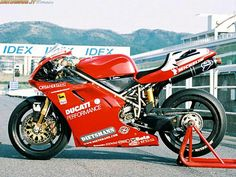 Carl Fogarty Ducati