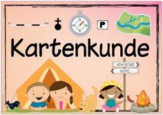 """Ideenreise: Themenplakat """"Kartenkunde"""""""