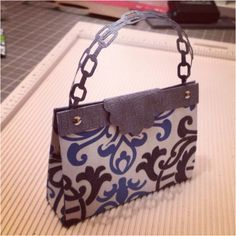 Mini paper purse