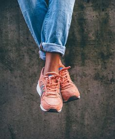 """Here is @rebecca_kreuzberg with her Asics GT-II x Ronnie Fieg """"Rose Gold"""". Tag #asicsteam for a feature. by asics_team"""