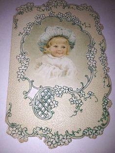 Estate Antique 1902 Marked First Valentine