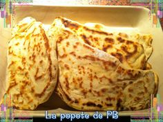 Cheese Naans au Thermomix ! Rapide à priori et simple...