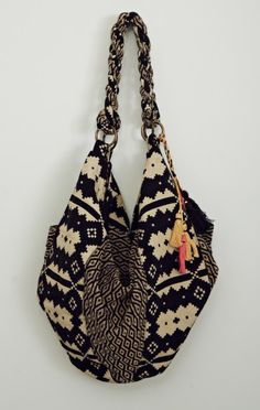 Hold your bikini, light sweater, snacks on the go, water bottle = perfect for day trips.  STELA 9 SHIVA HOBO BAG.