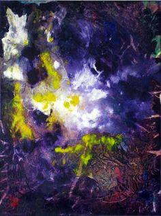 """""""Garden of Light"""" Acrylic on canvas 24"""" x 30"""""""