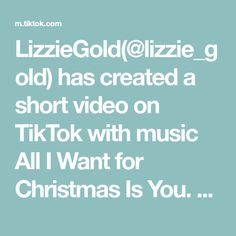 LizzieGold(@lizzie_gold) has created a short video on TikTok with music All I Want for Christmas Is You. Merry Christmas 🎄🎁🎊🎉#lizzie_gold #tiktok_ghana #deliciious All I Want For Christmas, Merry Christmas, Wii, Things I Want, Create, Sexy, Music, Ghana, Instagram