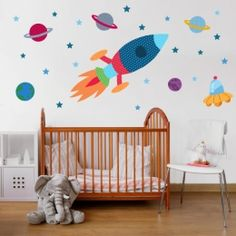 vinilos infantiles del espacio - Vinilos Infantiles StarStick