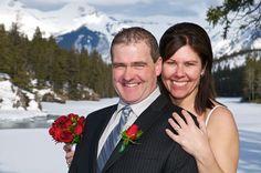 Peak Photography: Lake Louise Wedding Photographer - Nadine & David, CLL