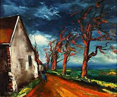Maurice de Vlaminck (French, 1876–1958) - Character in a Village Street