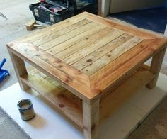 DON'T GORGET TO VOTE FOR ME IN THE WOOD SECTION!!collect a pallet with small pieces of wood and with straight legs for the tabel.Tools/Material i needed:jig sawmiter saw rule pencil ...