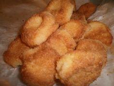 LE  RICETTE DI CHARA: Biscottini da tè  con la farina di cocco e senza l...