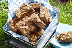 Blondies With Coconut, Nuts, And Chocolate Recipe  http://www.food2goodhealth.com/Recipe/Healthy/Egg-Free/Blondies-With-Coconut-Nuts-And-Chocolate-Recipe.aspx/1112.049_90819.009_1