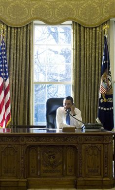 President Barack Obama's First Day In The White House