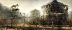 Fallout Lonestar: Van Buren Prison by Straidy.deviantart.com on @deviantART
