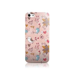 Pink Spring Birds iPhone iPhone 4 case iPhone 5 by VDirectCases Iphone 5c Cases, Diy Phone Case, 5s Cases, Iphone 4, Cellphone Case, Nexus 5 Case, Galaxy Pictures, Lg G3, Design Case