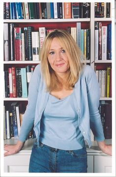 J.K. Rowling- The best author ever! Creator of our childhood.... HARRY POTTER!
