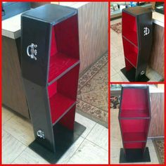 Upcycled Out Dresser Drawers Our 1st Coffin Bookcase Size 37 Tall X 13