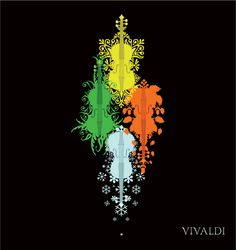 A fictional concert poster project from college. Inspired by Vivaldi's four seasons Four seasons Concert Posters, Four Seasons, Deviantart, Wallpaper, Wallpapers, Seasons Of The Year, Gig Poster