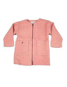 Little Pieces - Old pink Hai coat - Pepatino.be