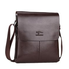 bac0d4a1e29f TOP POWER Men Shoulder bag Famous Brand PU Leather Men Bag Casual Business  Mens Messenger Bag Vintage Men s Crossbody Bag male-in Crossbody Bags from  ...