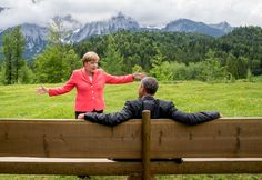 La foto de #Obama y #Merkel: sonrisas, lágrimas y #memes @verne #FelizMiercoles