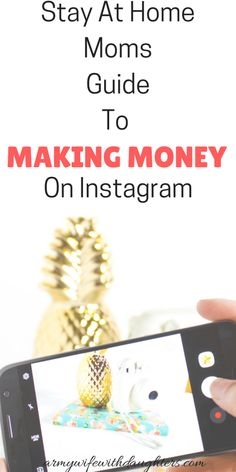 Do you want to make money on Instagram? This is how I make money as a stay at home mom on Instagram. #sidehustle #makingmoney ##makemoneyonline #stayathomemom #wahm #instagram