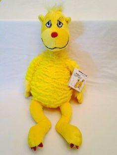 Kohls-Cares-For-Kids-Dr-Seuss-Sleep-Book-Snoozapalooza-Yellow-Plush-NWT
