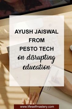 Ayush Jaiswal from Pesto Tech