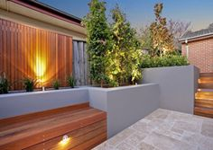 really cool seat/deck/planter ideas.