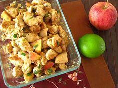 Apple lime chicken stir-fry #paleo
