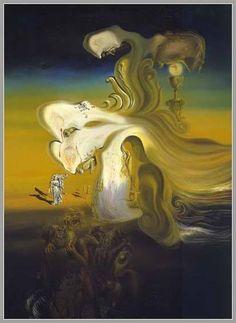 narcissus painting dali
