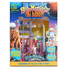Everyone is getting these for Xmas from meeeeee ! Yay Monkey In Space, Aquarium Set, Sea Monkeys, Brave New World, Old Signs, Space Crafts, The Martian, New Toys, Sea Creatures