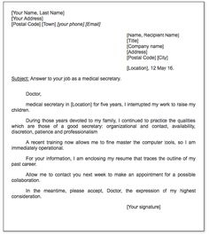 Government Official Letter Sample - http://exampleresumecv.org ...
