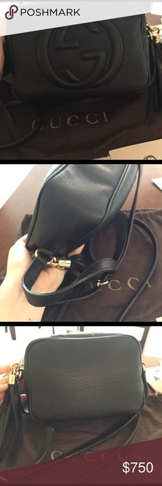 Gucci soho disco This listing is additional pictures to better show all aspects of bag. Please see original listing in my closet for more information. Gucci Bags