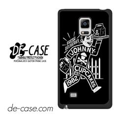 Johnny Cupcakes Est 1982 DEAL-5910 Samsung Phonecase Cover For Samsung Galaxy Note Edge