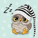 Sleeping Cute Owl Stock Photos, Images, & Pictures - 299 Images